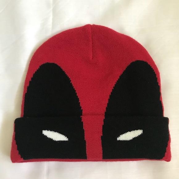 Marvel Accessories Deadpool Beanie With Stretch Poshmark